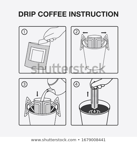 filtered drip coffee Stock photo © zkruger