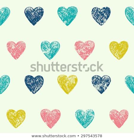 Stock photo: Pretty Pink Pencil Heart
