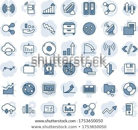 szolgáltatások · üzlet · ikonok · vektor · ikon · gyűjtemény · teherautó - stock fotó © conceptcafe