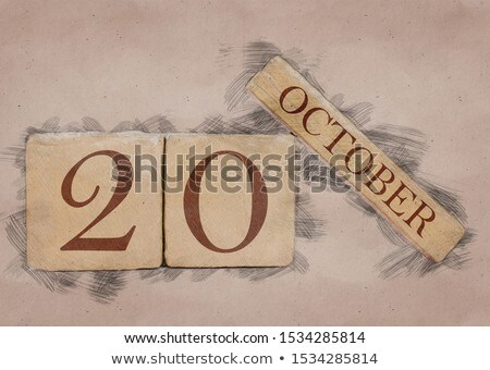 20th october stock photo © oakozhan