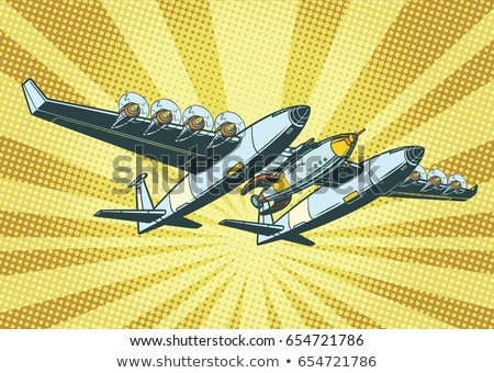 Airplane to send rockets into space Stock photo © studiostoks