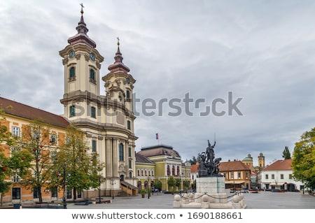 St Anthonys Church In Padua Eger Hungary Stockfoto © Borisb17