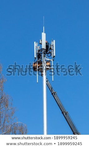 Lift used in the telecom work Stock photo © benkrut