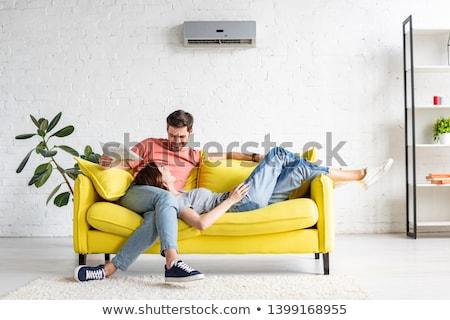 Couple resting Stock photo © photography33