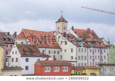 Street in the center of Regensburg Stock photo © Spectral