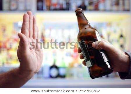 Quit drinking Stock photo © bbbar
