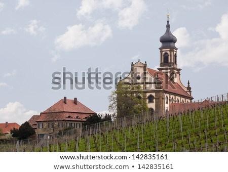 Church St Johannis or Johannes in Castell Germany Stock photo © backyardproductions