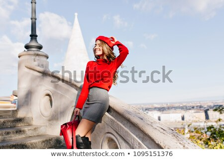 beauitiful french girl stock photo © iko