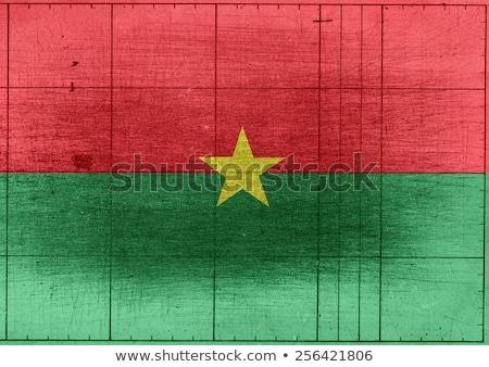 Burkina Faso flag themes idea design Stock photo © kiddaikiddee