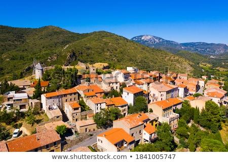 южный Франция деревне горные рок Европа Сток-фото © LianeM