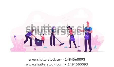 子供 ゴミ 市 実例 少女 子供 ストックフォト © colematt