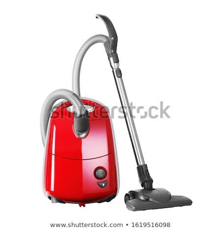 Piros levegő takarító otthon gép cső Stock fotó © Lopolo