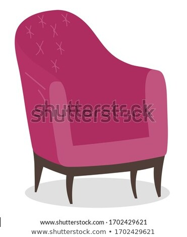 Chair Coffeehouse Soft Sitting Equipment Vector Stock photo © robuart