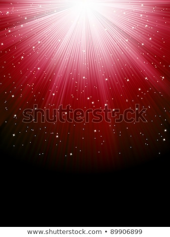 stars on red striped background eps 8 stock photo © beholdereye