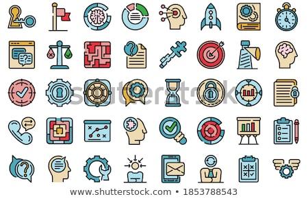 applikációk · fejlesztő · program · karrier · szavak · munka - stock fotó © marinini