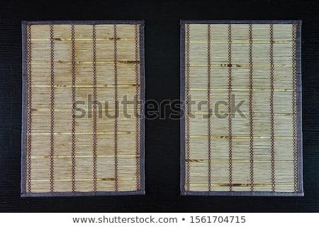 Bambusz izolált fehér természet levél háttér Stock fotó © oly5