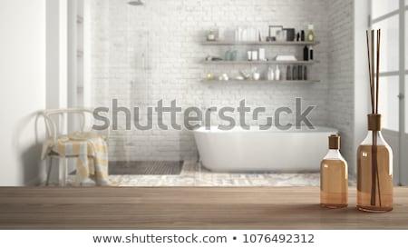 Aromático bano sal spa bienestar belleza Foto stock © wime