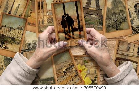 Vacation memory concept Stock photo © grafvision