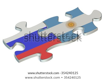 Argentina and Russian Federation in puzzle Stock photo © Istanbul2009