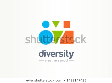 logotipo · pessoas · grupo · equipe · vetor · símbolo - foto stock © blaskorizov