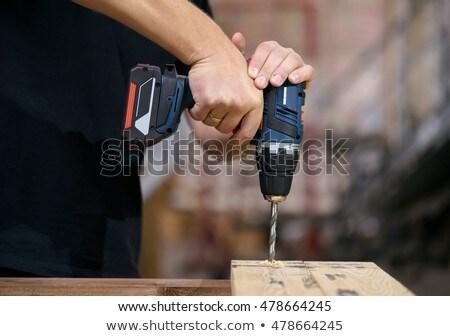 Cordless drill Stock photo © naumoid