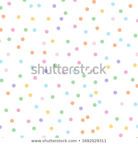 pattern with colorful dots stock photo © ratkom