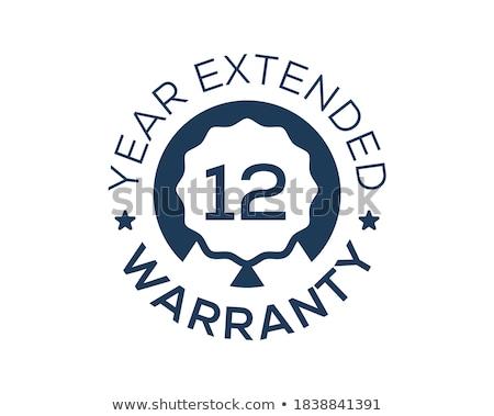 12 certificaat illustratie teken recht Stockfoto © Blue_daemon