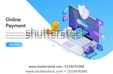 Online Payment Web Page, Computer and Smartphone Stock photo © robuart