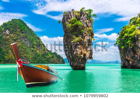 James Bond Island in Thailand Stock photo © bloodua