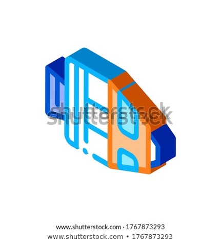 Spaceship Return Unit isometric icon vector illustration Stock photo © pikepicture
