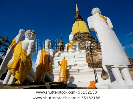 Stok fotoğraf: Tarihsel · park · Tayland · ağaç · Bina · ibadet