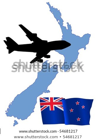 fly me to the New Zealand Stock photo © perysty