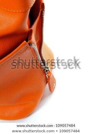 Details of Women's Ginger Handbag  Stock photo © zhekos
