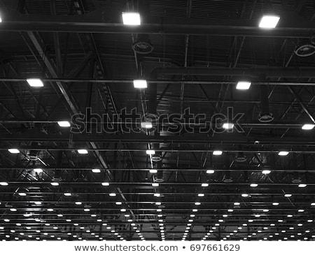 Industrial teto produção edifício construção urbano Foto stock © Spectral
