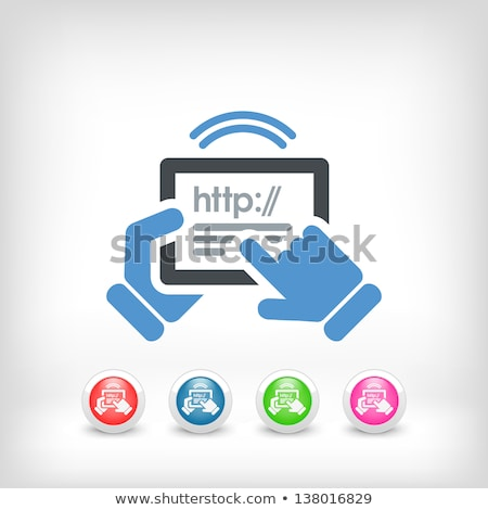 Symbols Internet And Adsl Сток-фото © Myvector