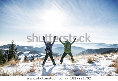 winter hiking Stock photo © val_th