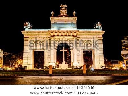 Porta de la Mar in Valencia, Spain. Stock photo © rglinsky77