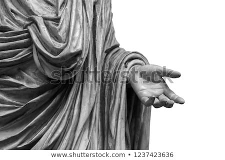 Old marble sculpture Stock photo © smuki