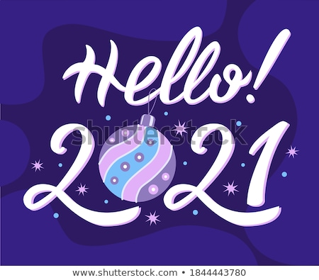 Dark Lilac Snowflakes Stock photo © hlehnerer