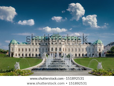 庭園 宮殿 オーストリア 写真 一般的な ストックフォト © Dermot68