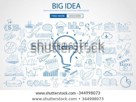 Business Break concept with Doodle design style  Stock photo © DavidArts