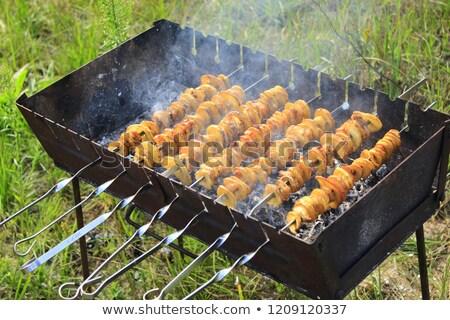 suculento · bife · vitela · carne · carne · batatas - foto stock © romvo