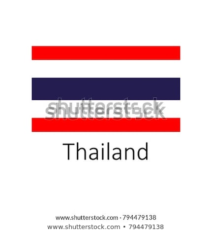 Flag of Thailand in round frame Stock photo © colematt
