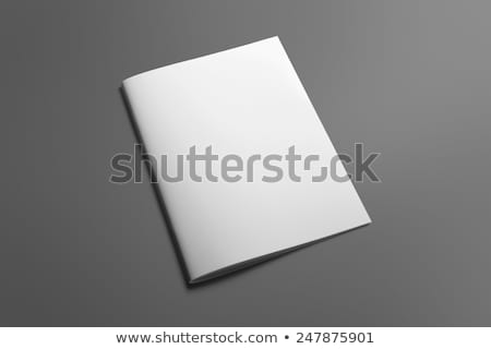 Blank brochure Stock photo © montego