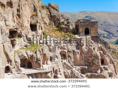 Cave monastery Vardzia, Georgia Stock photo © borisb17