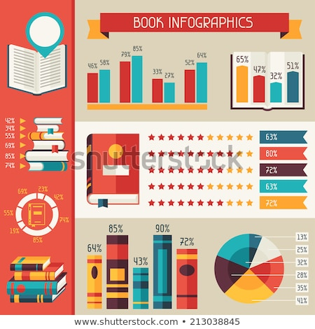 Leitura biblioteca livro mínimo bandeira Foto stock © pikepicture