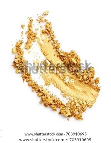 Yellow make-up smear Stock photo © goir
