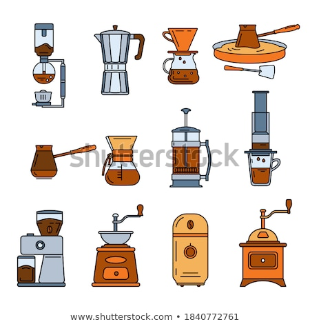 Stock photo: Coffee press