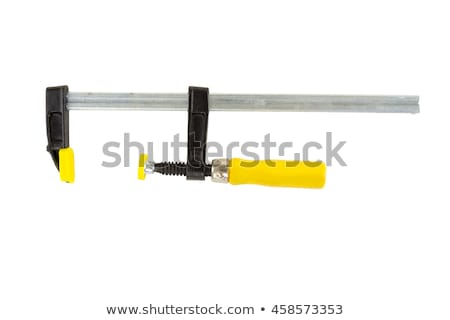 Worker with an F clamp Stock photo © photography33
