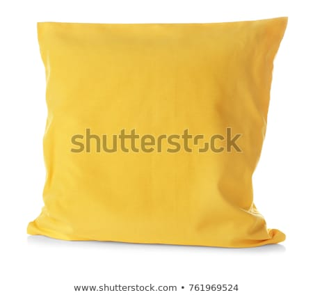 A yellow pillow Stock photo © bluering